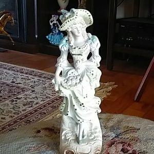 Victorian figurine Fern Japan